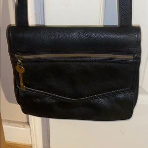 Fossil New Crossbody Leather